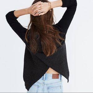 Madewell Cross Back Sweater